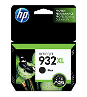 HP Officejet 932XL Ink Cartridge Hi-Yld Black CN053A