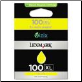 Lexmark 100XL Ink Cartridge YELLOW 14N1071A