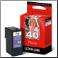 Lexmark # 40 18Y0340A Ink Cartridge Photo BLACK