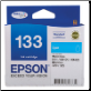 Epson 133 Inkjet Cartridge Cyan