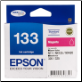 Epson 133 Inkjet Cartridge Magenta