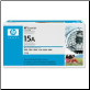 HP C7115A Toner Cartridge 15A Std-Yield BLACK