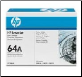 HP CC364A 64A Toner Cartridge Std-Yield BLACK