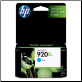 CD972AA HP No.920XL Ink Cartridge Hi-Yield CYAN