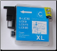 LC39C Brother Ink Cartridge Compatible  Hi-Yield LC39 CYAN