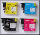LC39 Brother Ink Cartridges Compatibles Set of 4