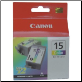 Canon BCI15C Ink Cartridge (Twin Pack)