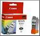 Canon BCI24C2 Twin Pack Tri-Color Ink Cartridges