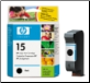 HP15 C6615D Inkjet Cartridge BLACK