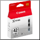 Canon CLi-42LGY Ink Cartridge CLi42 LIGHT GREY