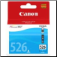 Canon CLi526 Ink Cartridge Cyan CLI526C