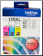 Brother LC135XLCL3PK Hi-Yield Ink Cartridge LC135 3 Color Pack