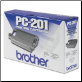 Brother PC201 Thermal Ribbon Fax Cartridge