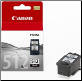 Canon PG512 Inkjet Cartridge Hi-Yield Black