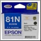 Epson 81N Inkjet Cartridge Black  T1111