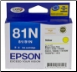 Epson 81N Inkjet Cartridge Yellow T1114