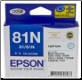 Epson 81N Inkjet Cartridge Light Cyan T1115
