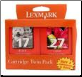 Lexmark # 27 #17 TPANZ02 Ink Cartridges Twin Pack