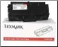 Lexmark 10S0063 Toner Cartridge BLACK