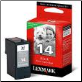 Lexmark # 14 18C2090A Inkjet Cartridge BLACK