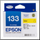 Epson 133 Inkjet Cartridge Yellow C13T133492