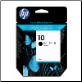 HP10 Inkjet Cartridge C4844A BLACK