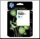 C4907AA HP940XL Inkjet Cartridge HP940 Hi-Yield CYAN