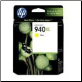 C4909AA HP940XL Inkjet Cartridge HP940 Hi-Yld YELLOW
