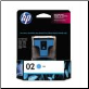 HP02 C8771WA Inkjet Cartridge CYAN