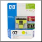HP02 C8773WA Ink Cartridge YELLOW