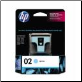 HP02 C8774WA Ink Cartridge LIGHT CYAN