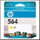 CB320WA HP-564 Ink Cartridge Std-Yield YELLOW