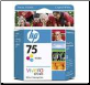 HP75 Ink cartridge CB337WA