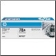 HP CE278A Toner Cartridge BLACK
