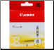 Canon CLI8 Ink Cartridge Yellow