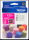 Brother LC133M Hi-Yield Ink Cartridge LC133 MAGENTA
