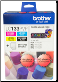 Brother LC133PVP Hi-Yield Ink Cartridge LC133 Pack