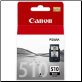 Canon PG510 Inkjet Cartridge Std-Capacity Black
