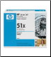 HP Q7551X Toner Cartridge BLACK