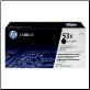 HP Q7553X Toner Cartridge Hi-Yield BLACK