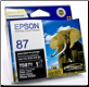 Epson T0871 Ink cartridge Photo Black