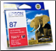 Epson T0877 Ink Cartridge T087 RED (SKU: T087790)