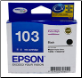 T1031 Epson Ink Cartridge Black