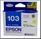T1034 Epson Ink cartridge Yellow